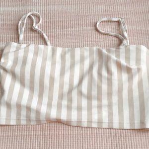 Hollister Longline Bandeau Bikini Top✨